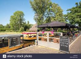 Giethoorn Homes For Sale by Canal Boat Restaurant Stock Photos U0026 Canal Boat Restaurant Stock