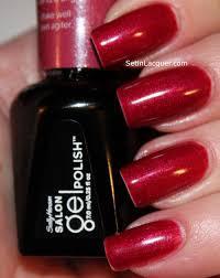 sally hansen salon gel polish review set in lacquer