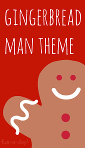 gingerbread man theme for the preschool classroom