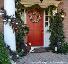 Outdoor Christmas Decoration Ideas Martha Stewart by Christmas Porch Decorating Ideas