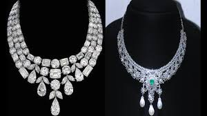 diamond necklace collection images Rich beautiful and most expensive diamond necklaces collection jpg