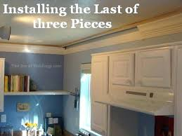 putting crown molding on kitchen cabinets cost to install crown molding crown molding for ceiling corner