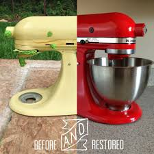 Kitchen Aid Mixers vintage kitchenaid mixer restored kitchenaid makeover do it