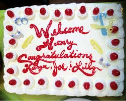 a simple yet fabulous red velvet sheet cake for my baby shower