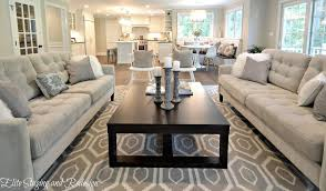 contemporary living room with carpet by elite staging and redesign