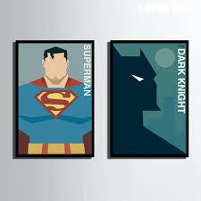 superman wall art no frame batman wonder woman superman superhero superman wall art uk of superman wood wall art poster style art print framed canvas