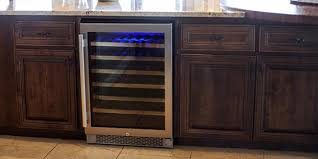 Front Vented Wine Coolers