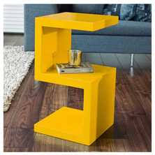 Yellow Side Table Uk Up To 30 Colours At Dwell One Week Only Dwell
