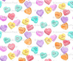 valentines day heart candy valentines day heart candy conversation hearts fabric