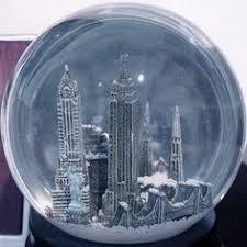 musical silver new york city skyline snow globe city skylines