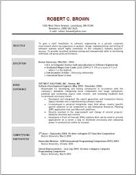 Good Example Resume by Cover Letter Example Of Resume Objective Good Example Of Objective