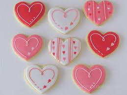 valentines cookies cookies ready primeras galletas listas easy s