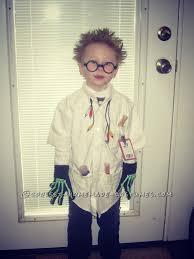 evil scientist spirit halloween cool mad scientist costume for a boy