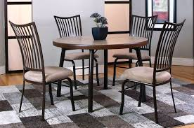 dining room sets 5 piece metal dining set kitchen dining room unclaimed freight in