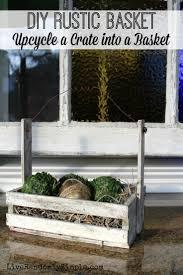 best 20 rustic baskets ideas on pinterest industrial baskets