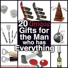 20 unique gifts for the who has everything harvard homemaker