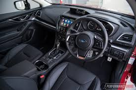 subaru xv interior 2017 2017 subaru impreza review video performancedrive