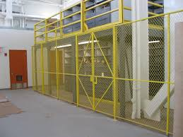 wire mesh caging