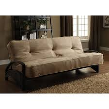 Black Livingroom Furniture Modern Futons Living Room Furniture The Home Depot