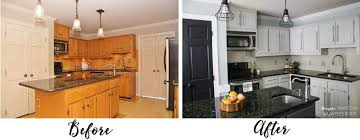 Painted Kitchen Cabinets Before And After Pictures Kitchen Best Paint Kitchen Cabinets Ideas Painted Kitchen