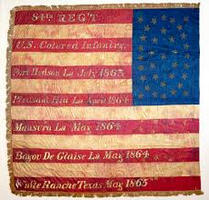 Flag Description United States Colored Troops Flag National Museum Of American