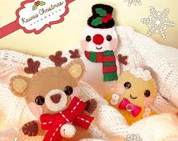pdf pattern gingerbread family ornaments pattern