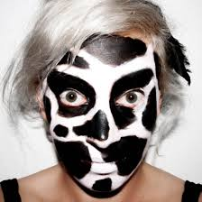 face of the day dairy cow makeup u2039 the dress up box