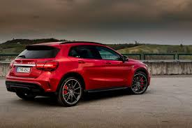 crossover mercedes 2018 mercedes amg gla45 small improvements work wonders roadshow
