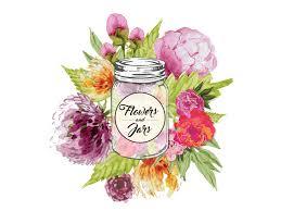 jar flowers flowers and jars