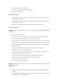 Sample Resume For Experienced Testing Professional by 100 Sample Resume For Qa Software Tester Essays And Guides