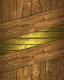 template design frame on wood background stock image image