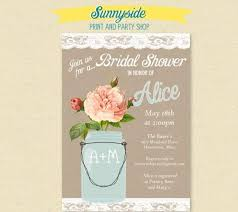 where to register for a bridal shower lace jar bridal invitation bridal shower
