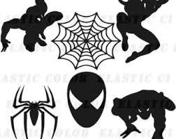 black suit spiderman clipart collection