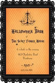 stunning halloween dinner party invitation ideas features party