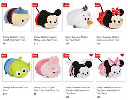 Frozen Storybook Collection Walmart More Tsum Tsums Added At Jcpenney Including Medium S