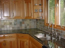 kitchen backsplash ideas for small kitchen with black and white