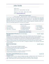 Sample Resume Word Format by Sample Resume Format Word Resume For Your Job Application