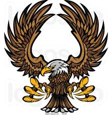 cartoon eagles logos clipart china cps