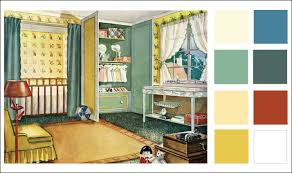 this 1929 nursery would be a wonderful kid space today with a few