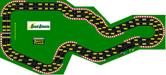 Mid Ohio Track Map by Famous North American Racing Circuits In Miniature Slot Cars