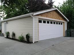 detached garage with deck u0026 loft traditional garage and shed