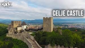 celje old castle celjski grad drone video youtube