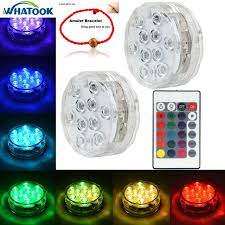 remote control battery lights whatook led battery light waterproof underwater submersible led