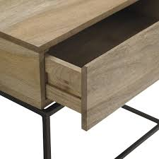 industrial coffee table with drawers industrial storage side table west elm australia