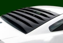 ford mustang 2013 accessories 2005 2014 mustang mrt rear window louver ford mustang