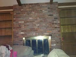 Fireplace Brick Stain by Beams Parquet Brick Fireplace Freshen Up Old Living Room
