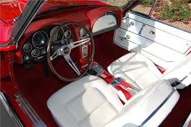 white corvette interior 1965 chevrolet corvette convertible 130994