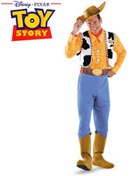 Deluxe Womens Halloween Costumes Toy Story Deluxe Woody Halloween Costume Walmart