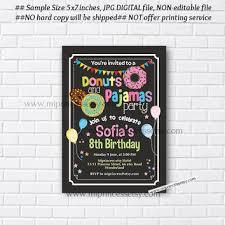 shop sleepover party invitations on wanelo
