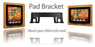 How To Mount Ipad To Wall Pad Bracket Ipad Wall Mounting Bracket Amazon Co Uk Electronics